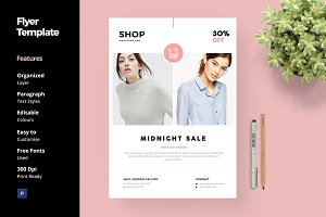 Fashion and Clothing Flyer Template