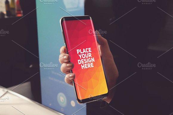 Samsung Galaxy S8 Mock-up#11