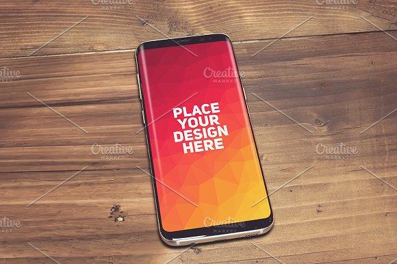 Samsung Galaxy S8 Mock-up#18