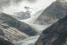 Glacier featuring landscape, sunset, and travel