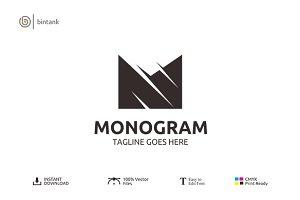 Letter M Logo - Monogram