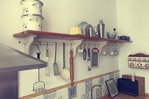 Charming old kitchen