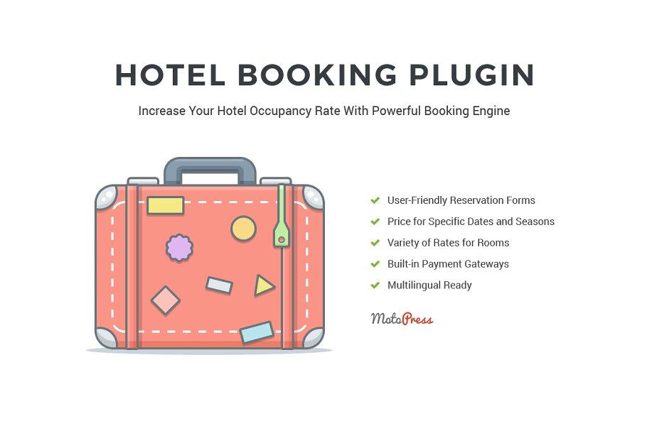 Hotel Booking Engine for WordPress ~ Wordpress Plugins ~ Creative Market