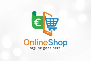Online Shop Logo Template Design