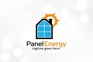 Panel Energy Logo Template Design