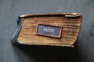 math concept for education industry