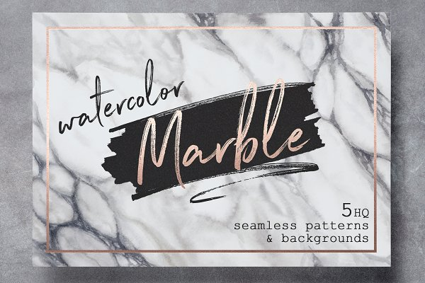 Watercolor Marble patterns