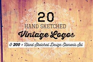 20 Logos & 200+ Design Elements