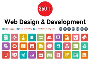 Web Design & Development Rounded