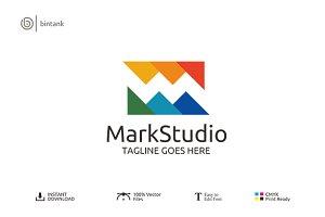 Mark Studio - Letter M Logo