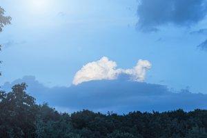 Mood of sky
