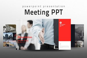 Meeting Presentation Template