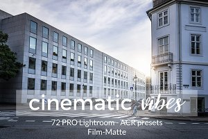 Cinematic Vibes Lightroom Presets