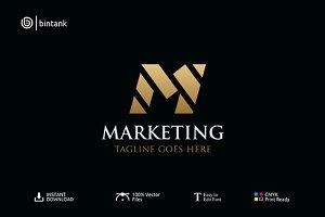 M Company Logo - Marketing