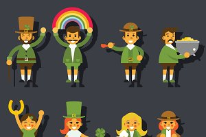 Leprechauns gnomes Characters