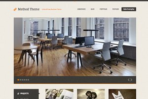 Method, a Responsive WordPress Theme