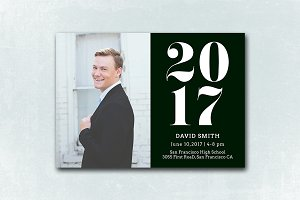 Senior Graduation Announcement 052