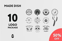 Made Dish Logo Package