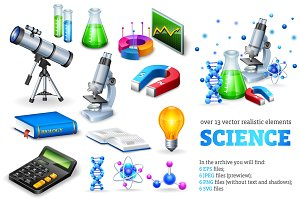 Science Realistic Set