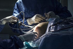 Doctor in the operating room
