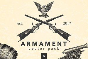 ARMAMENT - Vintage Illustration Pack