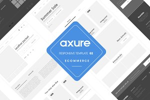 Axure responsive Ecommerce template2