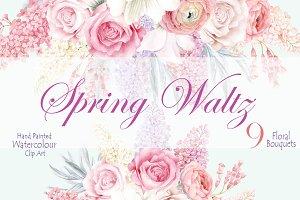 Spring Waltz Clipart