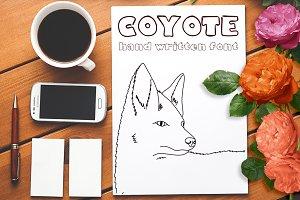 Coyote - Font No.11