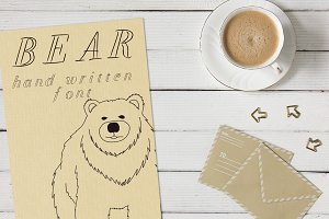 Bear - Font No.12