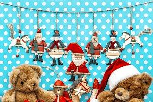 vintage toys christmas decoration