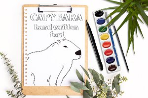 Capybara - Font No.13