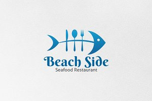 Beach Side - Logo Template