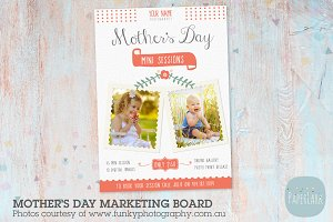 IM008 Mother's Day Marketing Board