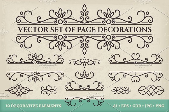 10 Calligraphic Design Elements