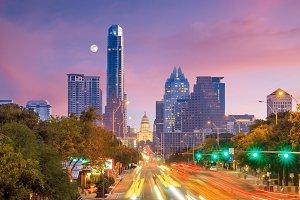 Skyline Austin, Texas