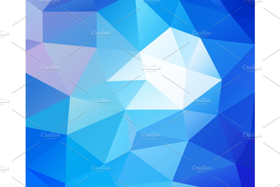 Triangular blue background in Graphics - product preview 8
