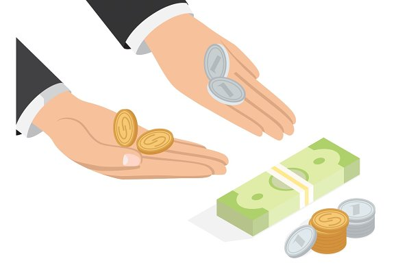 Offer of Money Isometric Projection…