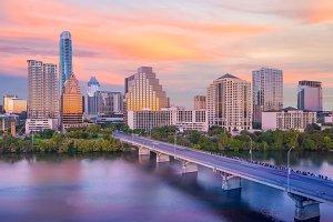 Downtown Austin Texas USA