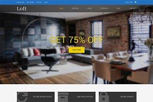 Loft Responsive Bootstrap Site Theme