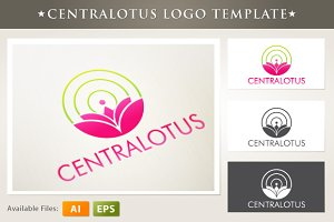 Centralotus Logo Template