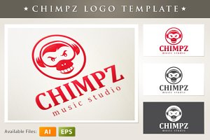 Music Studio Logo Template