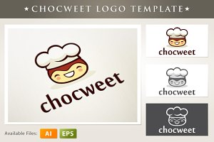 Chocweet Logo Template