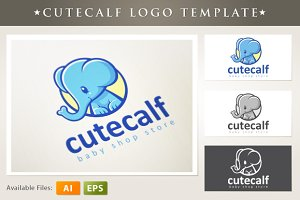 Cutecalf Logo Template