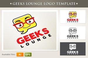 Geeks Lounge Logo Template