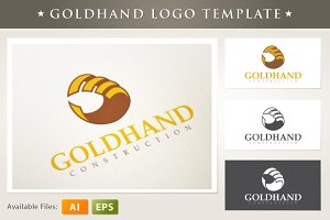 Goldhand Logo Template