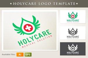 Holycare Logo Template