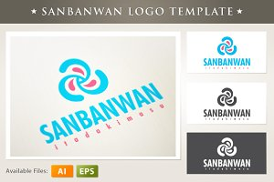 Sanbanwan Logo Template