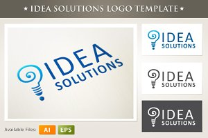 Solutions Logo Template