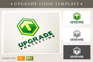 Upgrade Logo Template