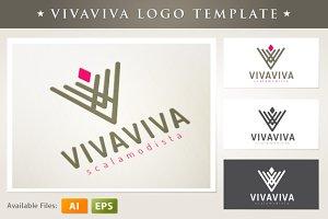 Vivaviva Logo Template